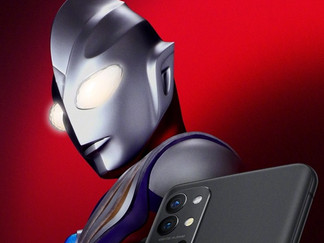 Ultraman Tiga Is Now The Brand Ambassador of OnePlus 9R