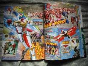 Zenkaiger Scans: Sentai Gear - Borrow Ability Attacks, Robo Fights & more