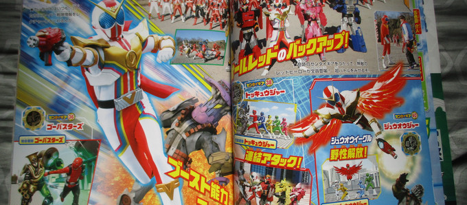 Zenkaiger Scans: Sentai Gear - Borrow Ability Attacks, Robo Fights & more