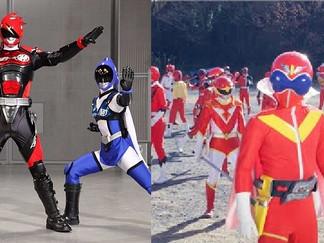 Akibaranger & All Red Sentai Gears To Appear in Superhero Senki?