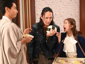 Kamen Rider Saber Episode 42 New Pics: Mei Made Dirty Again, Daishinji with Big Onigiri & more