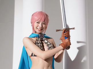 Asuka Kawazu Cosplays Rebecca & Vivi from One Piece