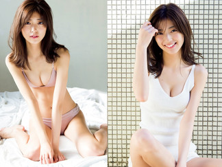 Mio Kudo Featured on FRIDAY Magazine Cover: Gravure Collection Included