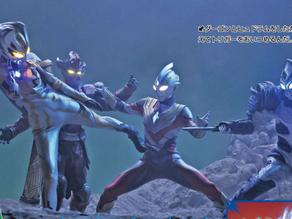Ultraman Trigger Scans: Origin, Vs Dark Giants, Golba & more