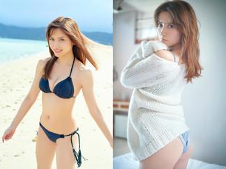 Nashiko Momotsuki's New Gravure Shots (from Weekly Playboy) Released