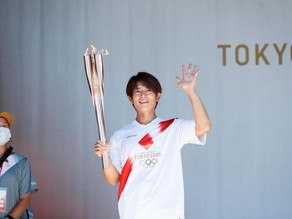 Taiyou Sugiura Participates in Tokyo 2020 Olympic Torch Relay