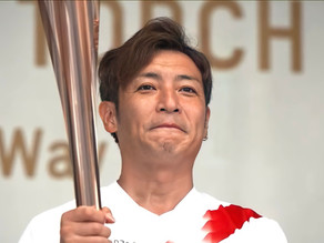 Takeshi Tsuruno Participates in Tokyo 2020 Olympic Torch Relay