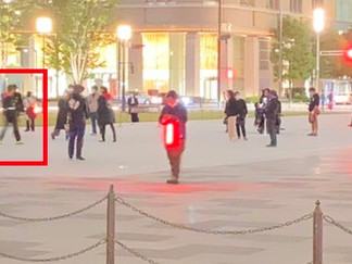 Zero-One the Movie Filming Spotted Near Tokyo Station