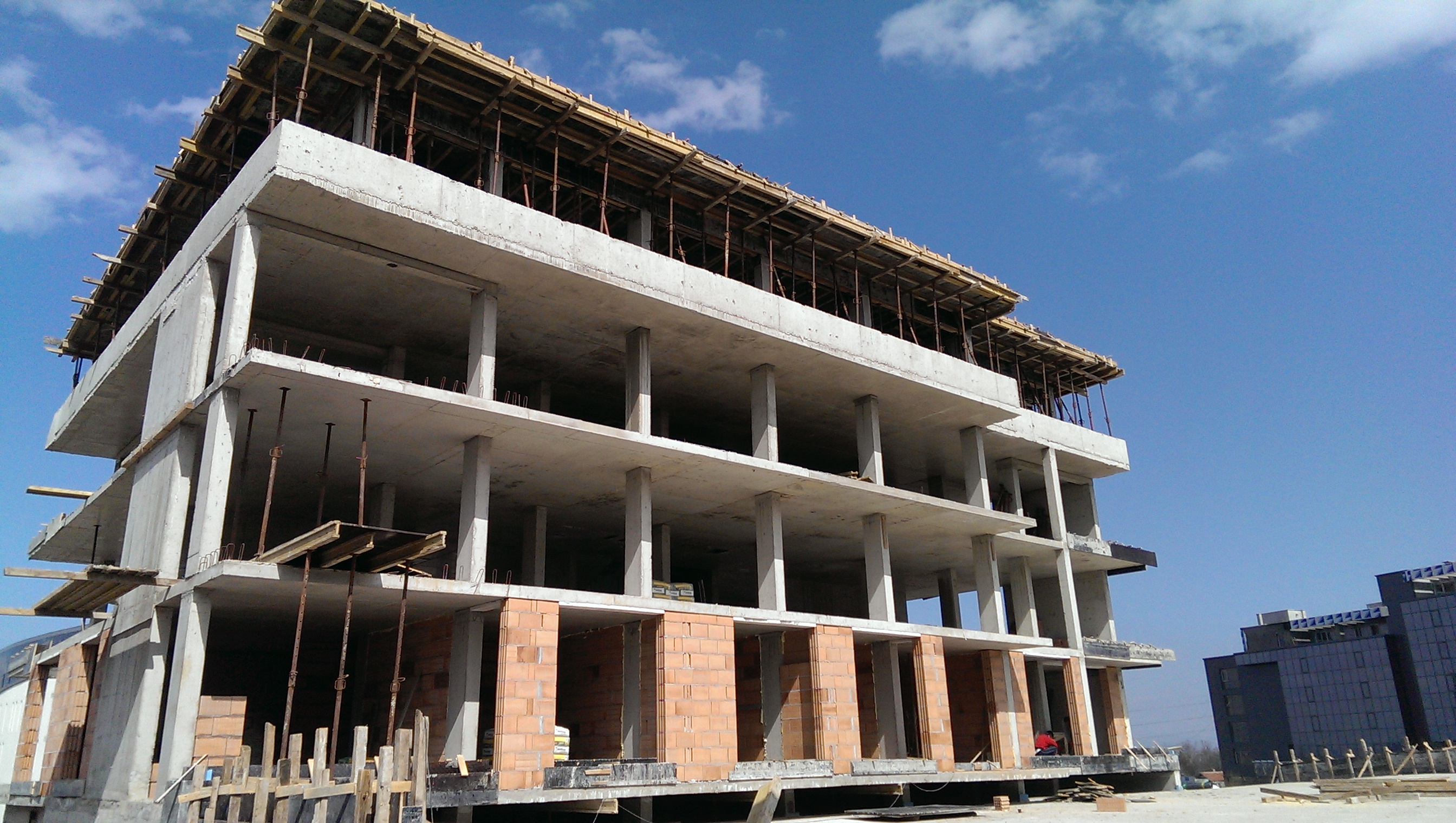 construction  26.03.2015. Building 1