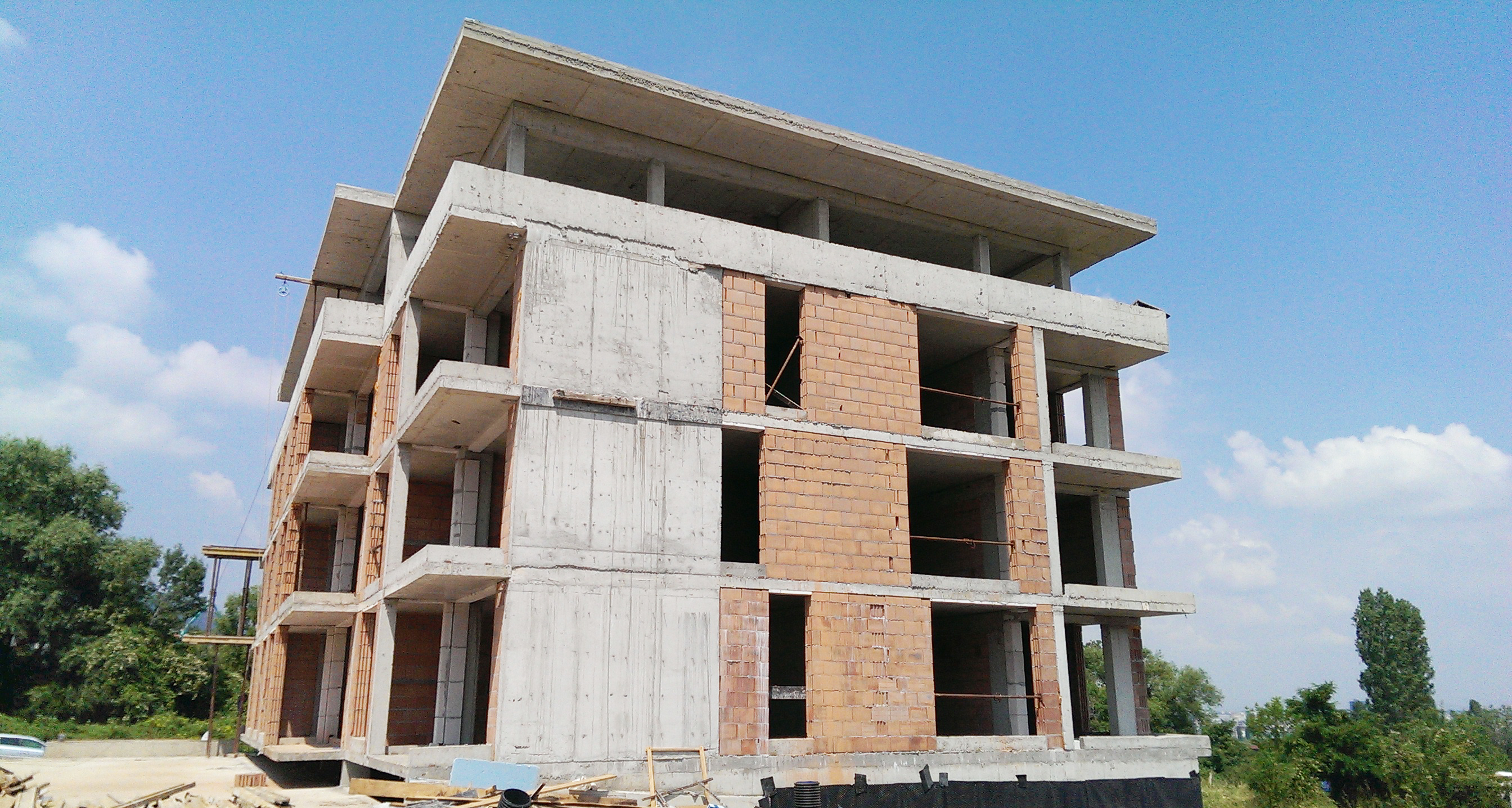 construction  03.07.2015. Building 1