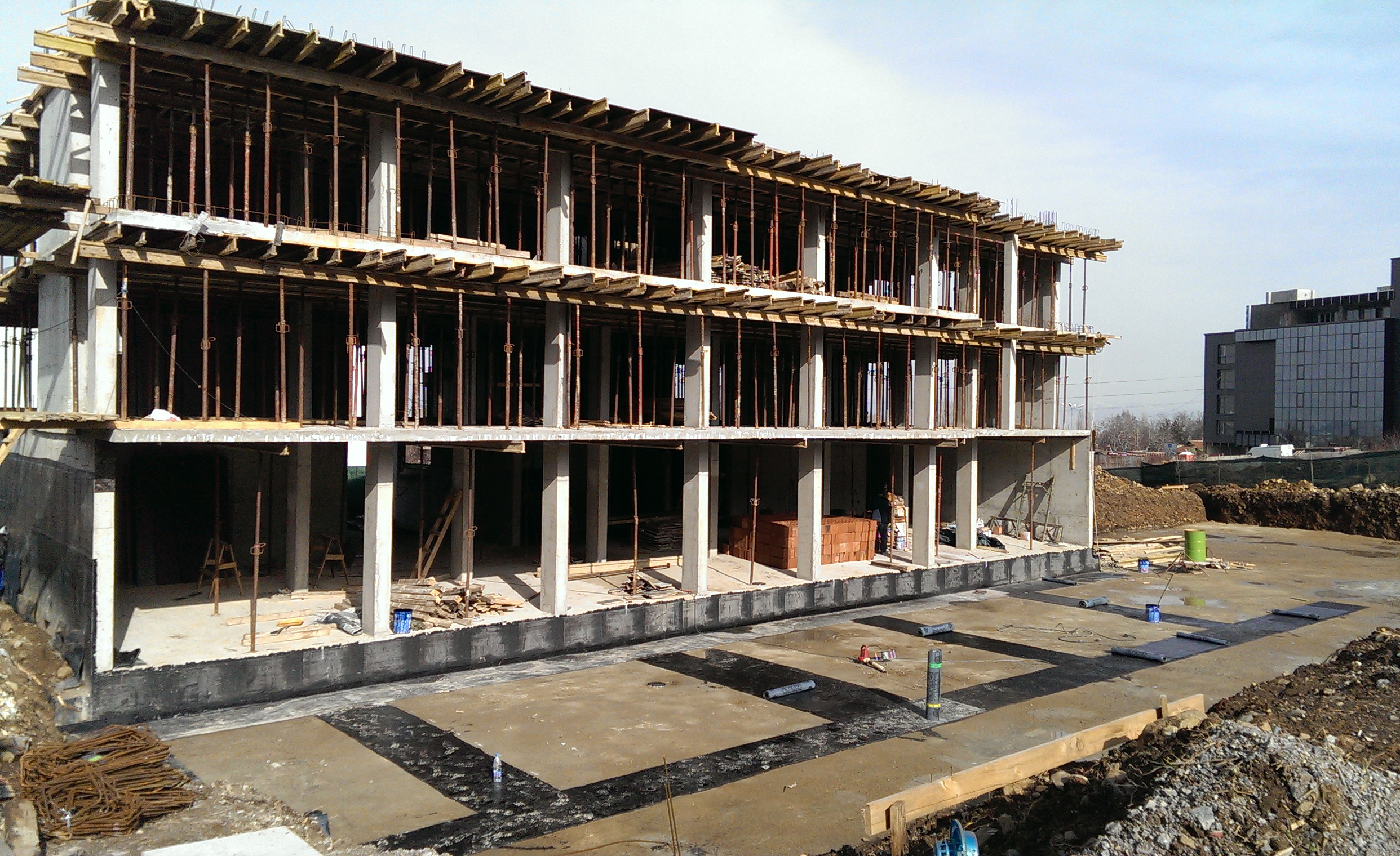 construction  05.02.2015. Building 1