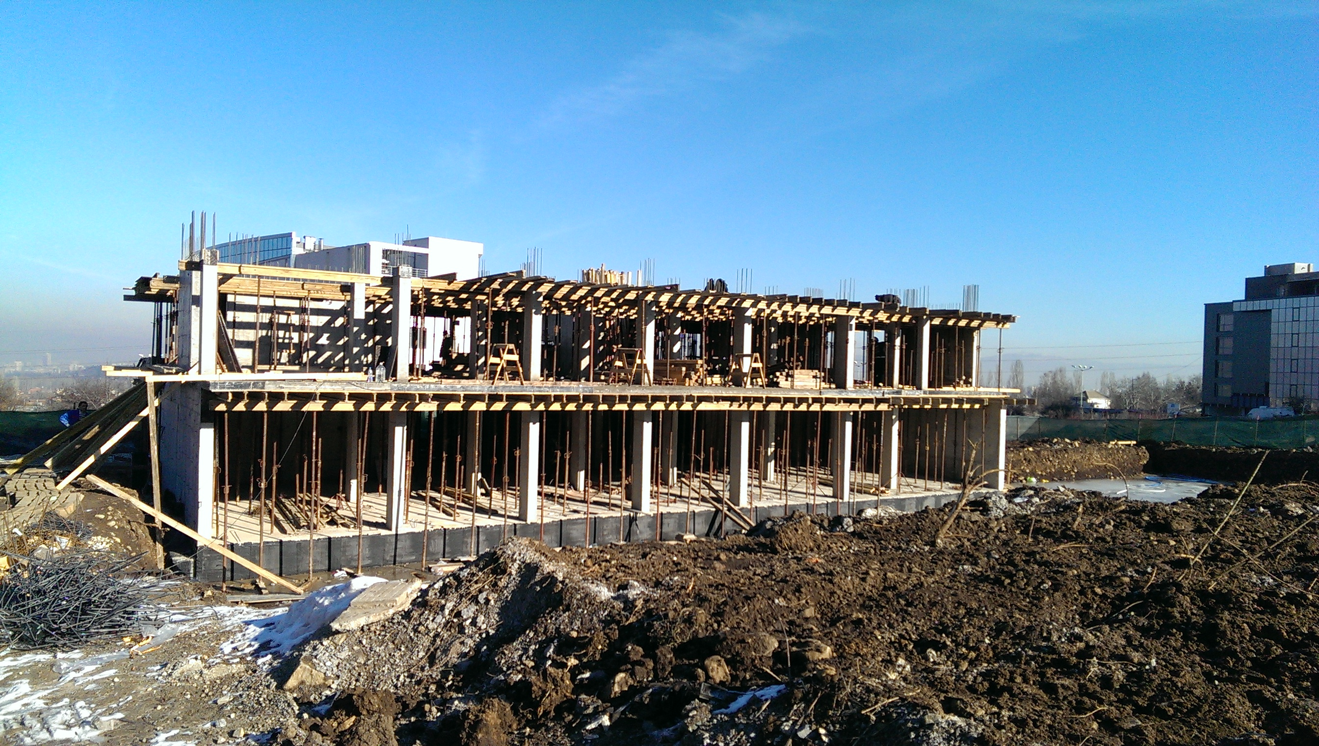 construction  16.01.2015. Building 1