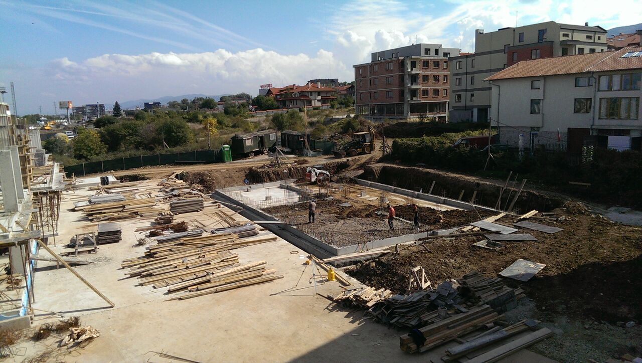 construction  03.10.2015. Building 4