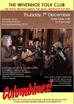 Columbines Headline Wivenhoe Folk Club