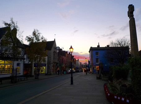 The wonders of Glastonbury, UK