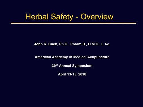 2018 AAMA Plenary #03: John Chen, PhD,LAc
