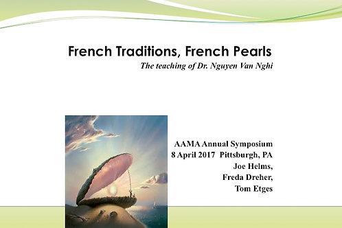 2017 AAMA Breakout #07: Joseph M. Helms, MD; Freda Dreher, MD; Thomas Etges, MD