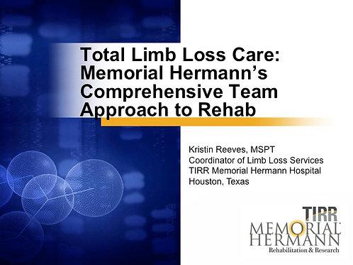 2018 SFL5 #02: Total Limb Loss Care