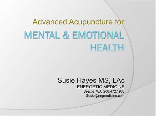 2018 AAMA Workshop #04: Susie Hayes, LAc