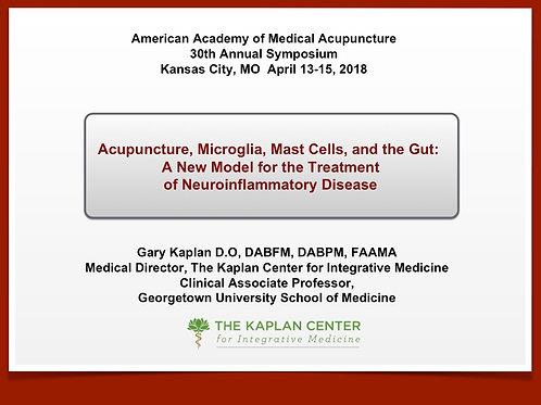 2018 AAMA Joseph Helms Lecture: Gary Kaplan, DO