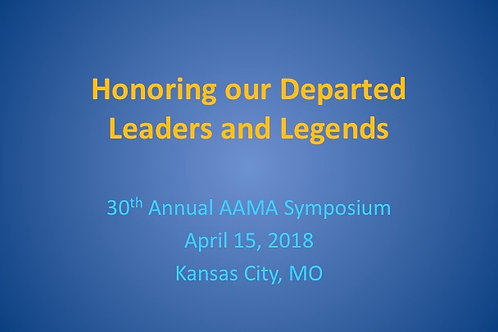 2018 AAMA Tribute
