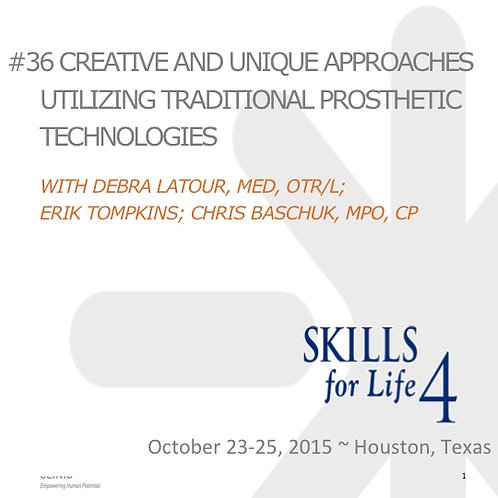 2015 SFL4 #36: Creative and Unique Approaches