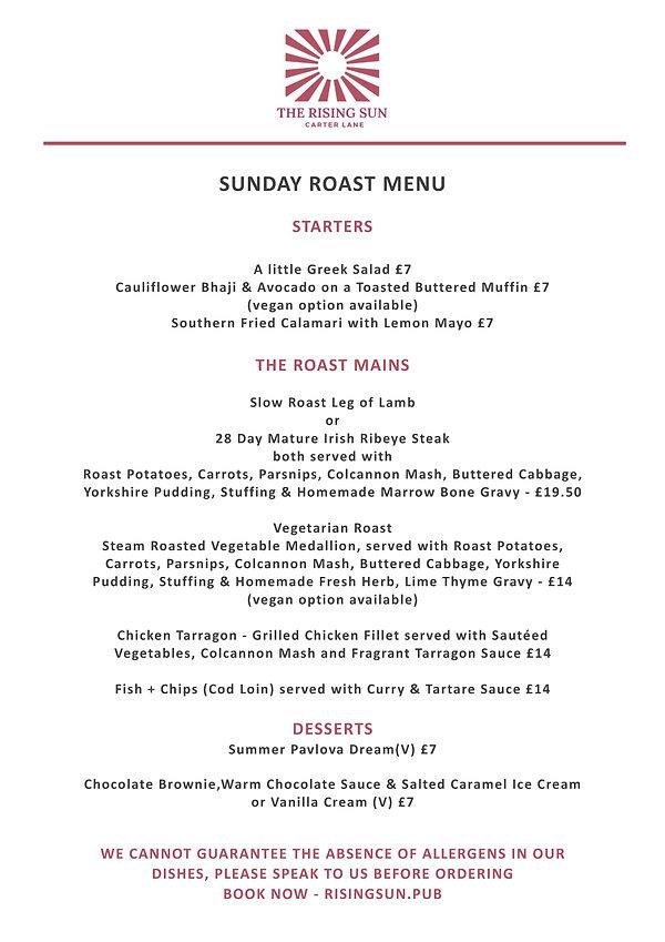 Sunday Roast Menu - Rising Sun FINAL.jpg