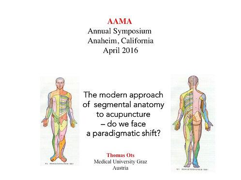 2016 AAMA Plenary #02: Thomas Ots, MD