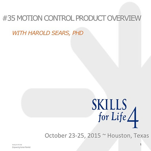 2015 SFL4 #35: Motion Control Product Overview