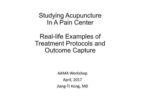2017 AAMA Breakout #10: Jiang-Ti Kong, MD, DABMA
