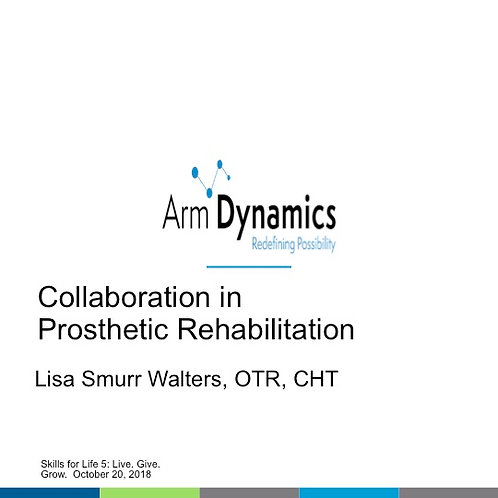 2018 SFL5 #42: Collaboration in Prosthetic Rehabilitation