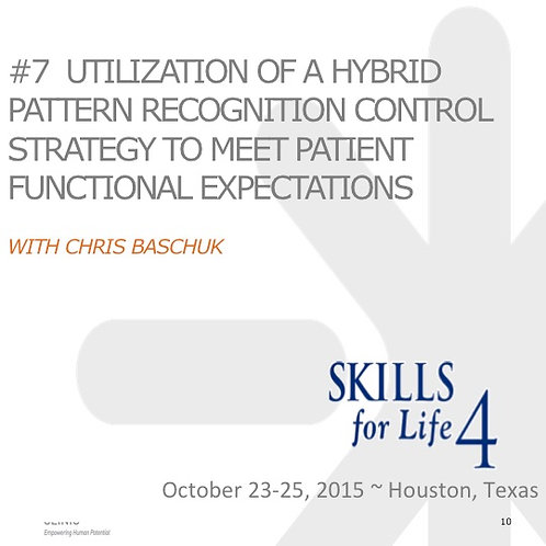 2015 SFL4 #7: Utilization of a Hybrid Pattern Recognition Control Strategy
