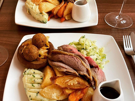 Our Famous Weekly Sunday Roast
