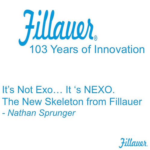 2018 SFL5 #26: It's Not Exo... It's NEXO.  The New Skeleton from Fillauer