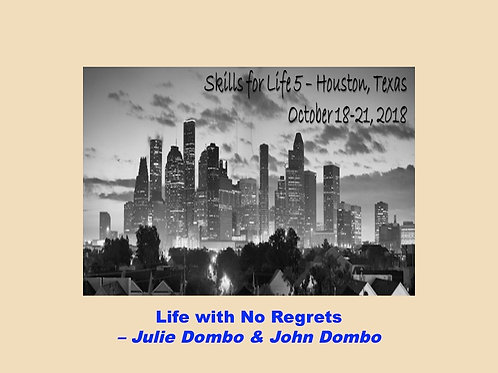 2018 SFL5 #08: Life with No Regrets
