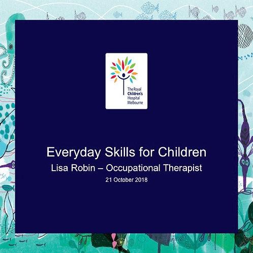 2018 SFL5 #44: Everyday Skills for Children