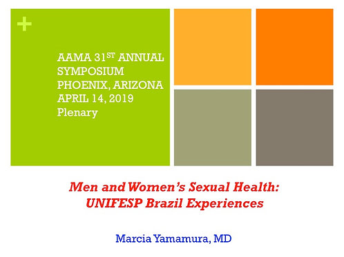 2019 AAMA Plenary #10: Marcia Yamamura, MD