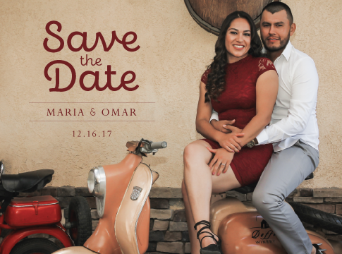 Maria & Omar: Save the Date