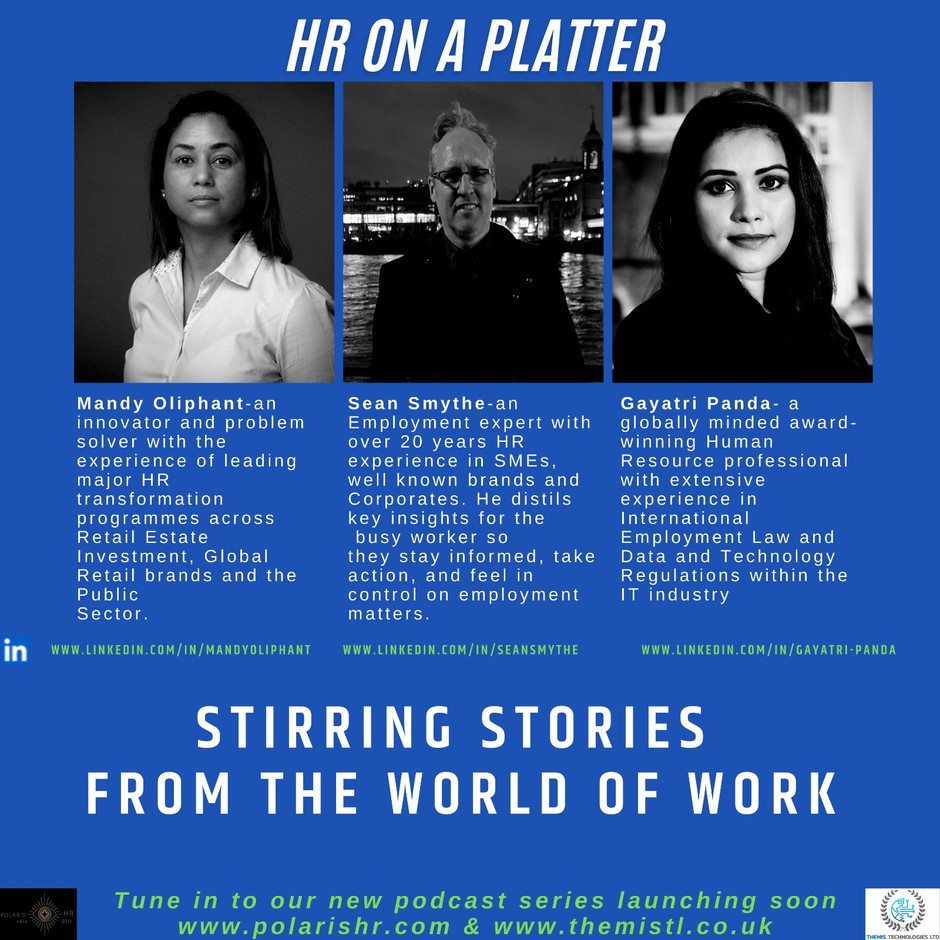 HR on a Platter Podcast Series - Launching soon