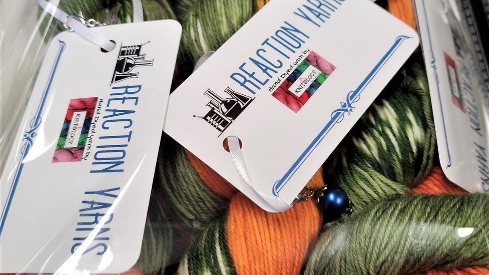 Green/Orange  Float Shawl Kit