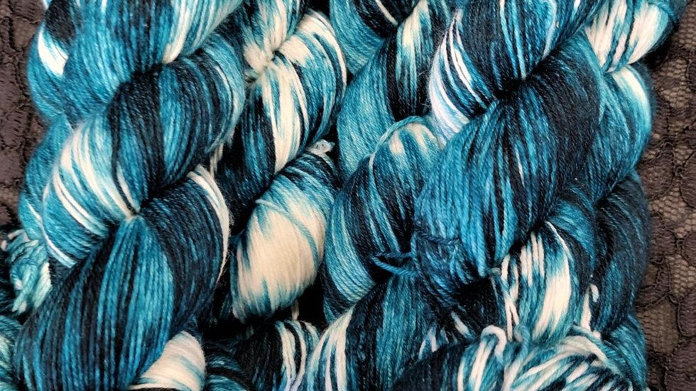 Teal Tones - Tie Dye Series