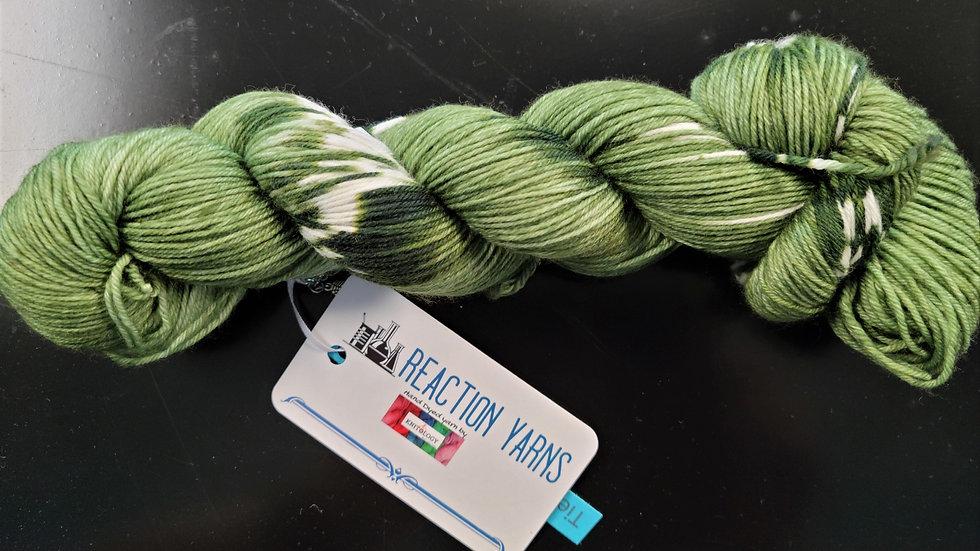 Tie Dye - Greens