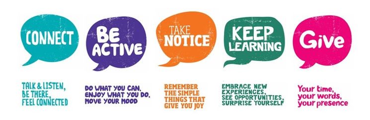 5 ways to well-being