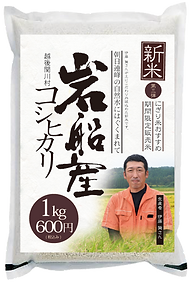 岩船産越後関川村コシヒカリ