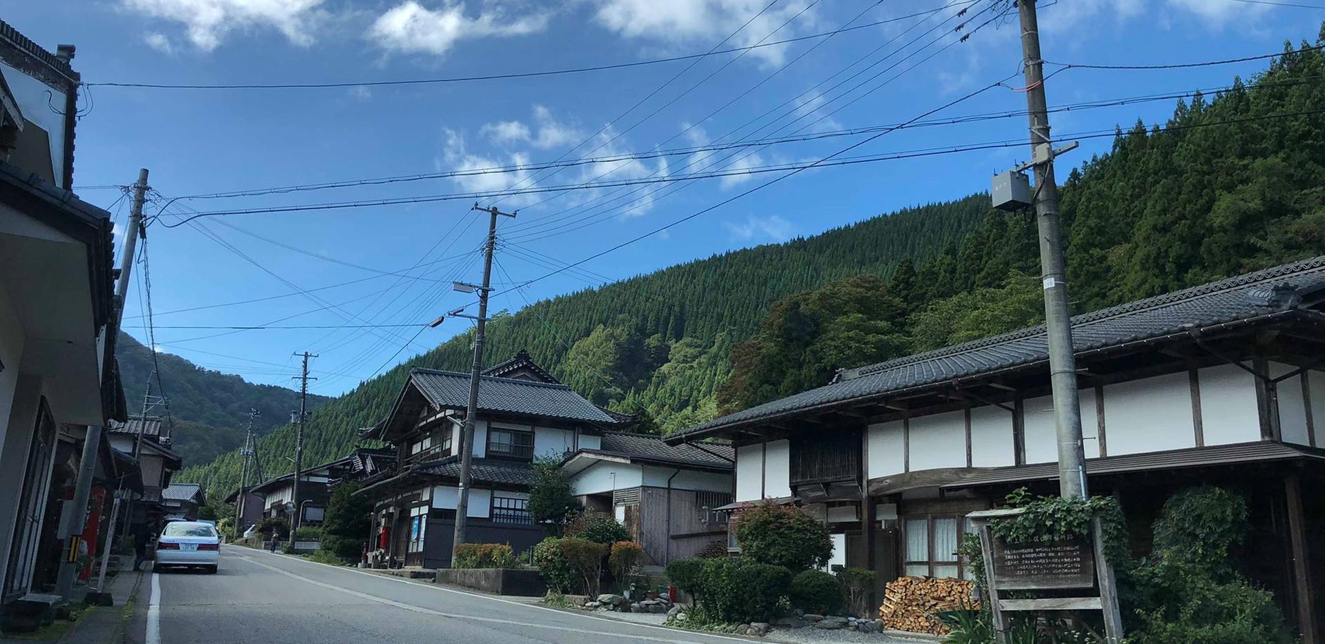 新潟 山北 小俣宿 小俣そば 小俣蕎麦