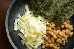 納豆・のり・チーズ