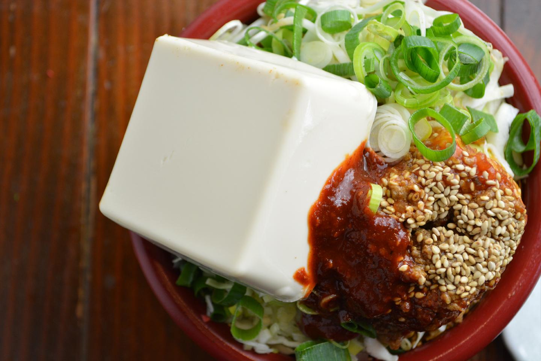 辛み調整可四川麻婆豆腐ごはんもんじゃ