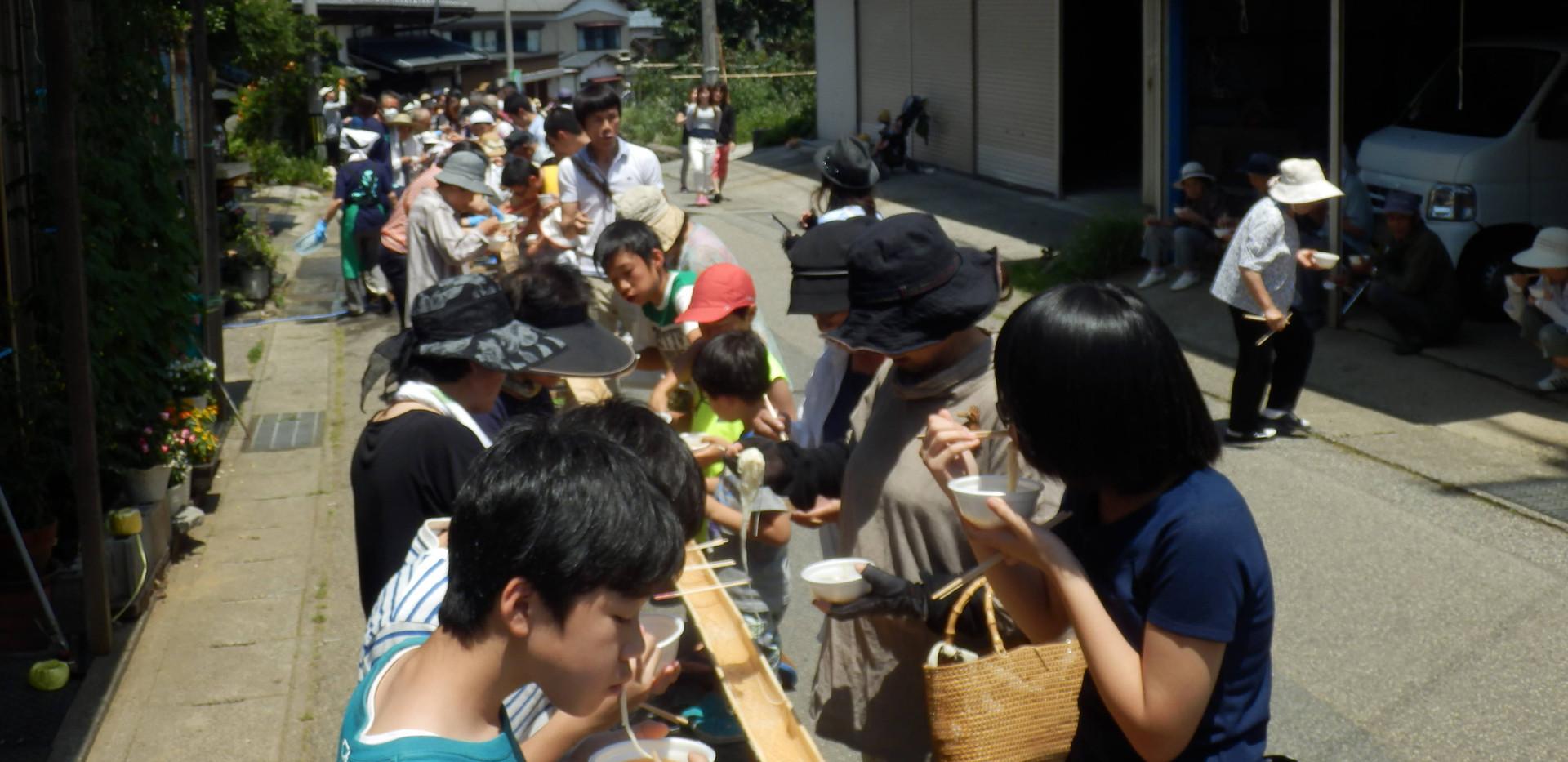 新潟 山北 お祭り