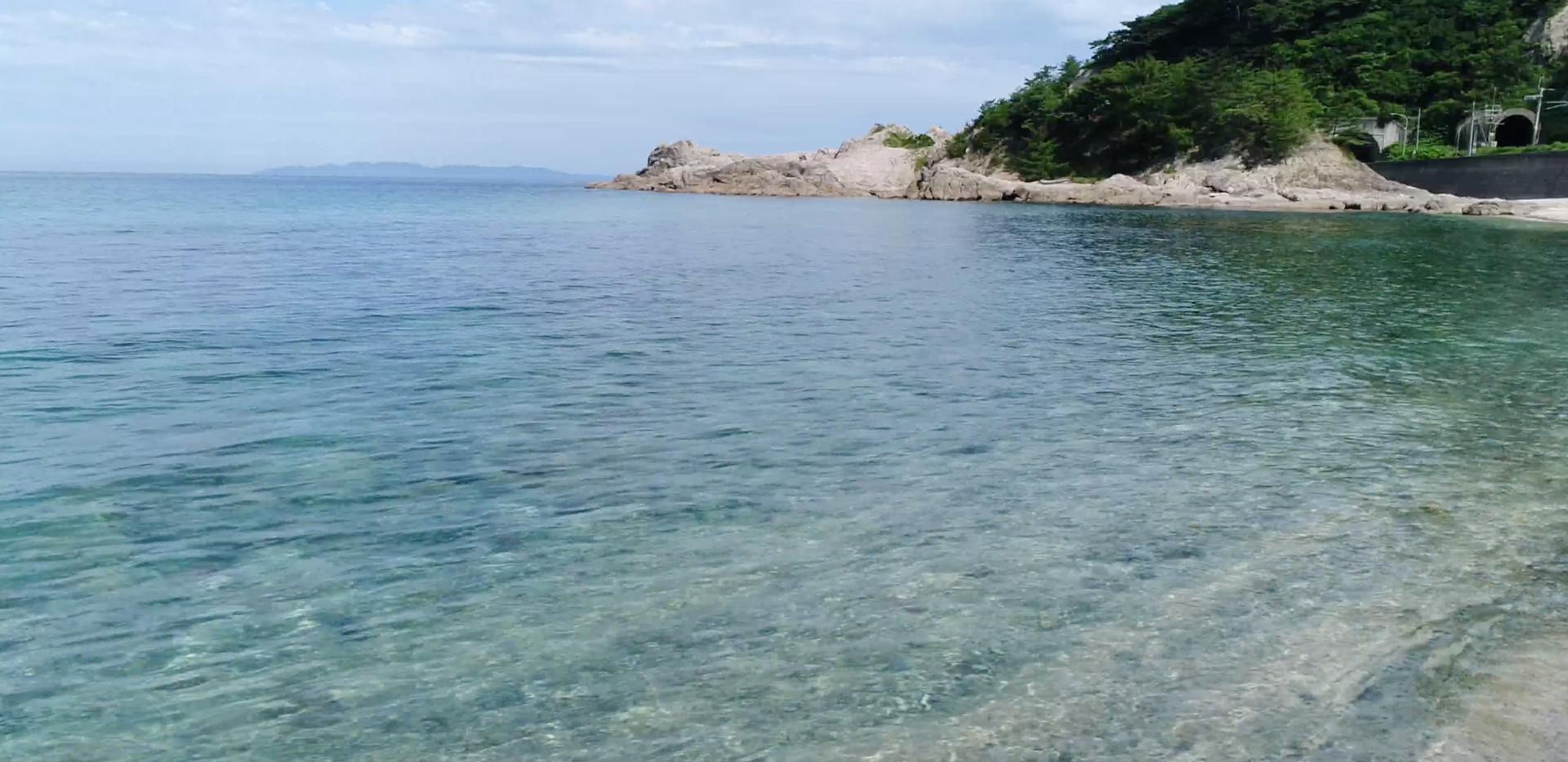 新潟 山北 海水浴