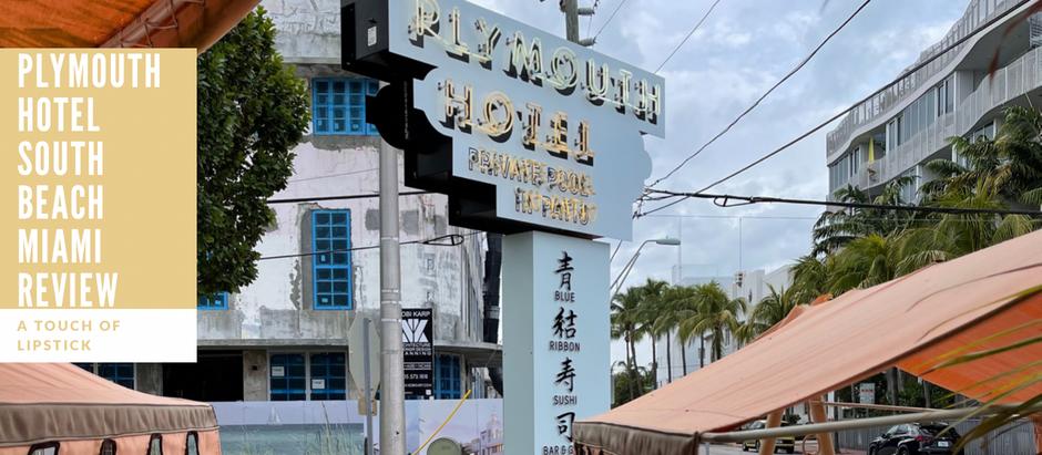 Plymouth Hotel South Beach Miami Review & Walkthrough